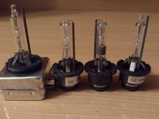 Лампы ксенон D1S, D2S, D2R, D4S.Новые.