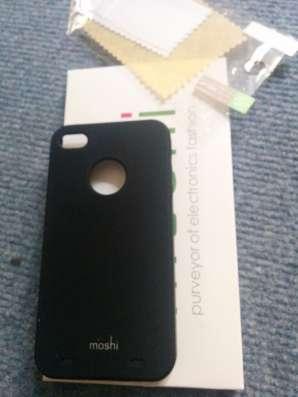 Бампер силиконовый чехол накладка для iPhone 4