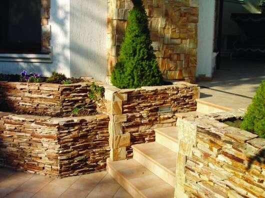 Природный камень плитняк для ландшафтного дизайна