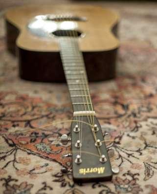 Акустическая гитара Morris W-18 в Новосибирске Фото 3
