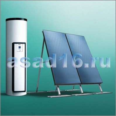 Солнечный водонагрев-ль 150 л.Vaillant auroSTEP plus/4 1.1HT