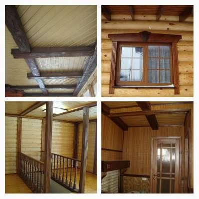 отделка бань, деревянных домов