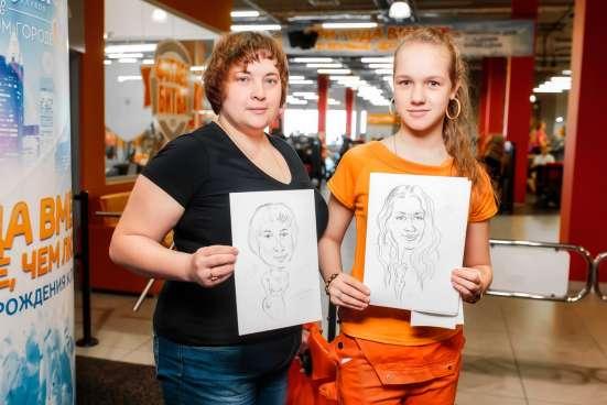 Художники шаржисты на праздники в Нижнем Новгороде Фото 5