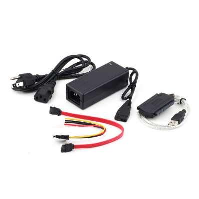 Переходник USB 2.0 - IDE, SATA с блоком питания