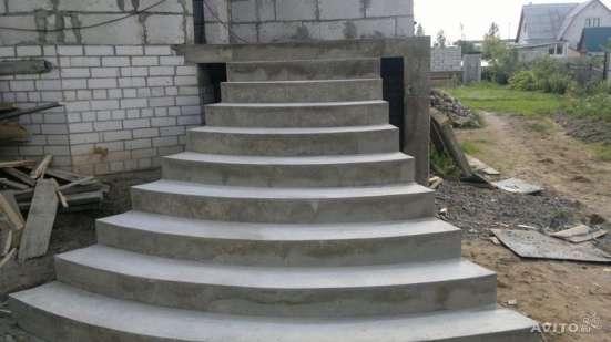 бетонные лестницы в Красноярске Фото 3