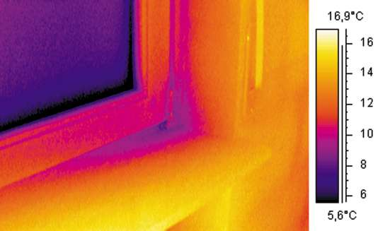 Тепловизионная диагностика состояния жилья в г. Мариинск Фото 5