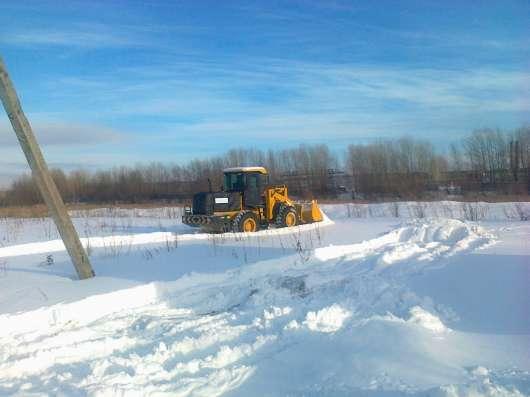 Уборка снега в Первомайском и Советском районах - Россия , Н в Новосибирске Фото 1