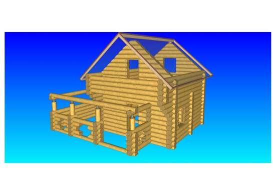 Дом из кедра в рассрочку на 12 месяцев