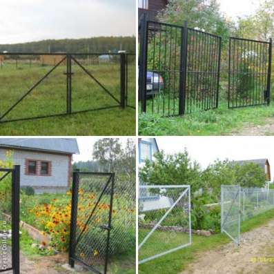Ворота металлические различных размеров