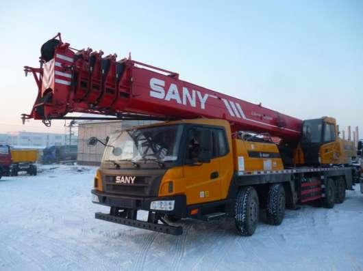 Продам автокран Sany STC 750 Евро 4 2014