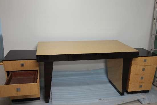 Эксклюзивный письменный стол Ар Деко из ценных пород дерева