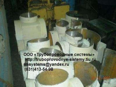 Тройники разрезные в комплекте с фланцем, пробкой, DN до 122 в Нижнем Новгороде Фото 1