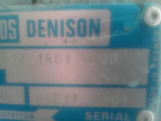 DENISОN насосы. 3-х винтовой фирма SIG Рumpe typ NDF