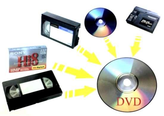 Оцифровка любых кассет и форматов