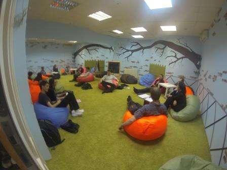 помещение для тренингов