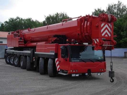 Аренда автокрана 400 тонн 60(144) метров ВЕЗДЕХОД