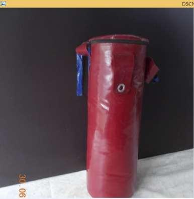 Боксерский мешок из ткани пвх.