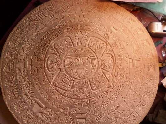 Оттиск календаря майя