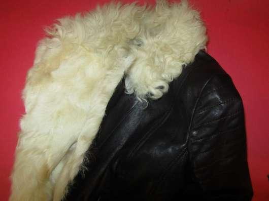 Меховая кожаная куртка в Нижнем Новгороде Фото 2