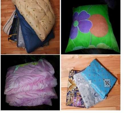 Матрацы, подушки, одеяло