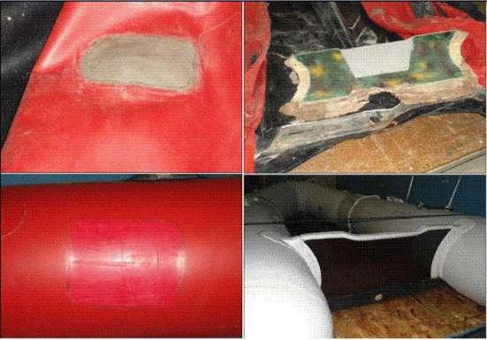 Ремонт и обслуживание надувных лодок и изделий из тканипвх.