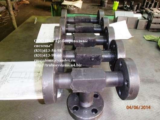 Тройник фланцевый ГОСТ 22801-83 Ру до 100 МПа