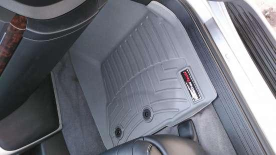 Коврики Weathertech для Toyota Land Cruiser 200 2012 года