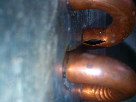 Установка счётчиков воды. Ремонт медных водопроводов.
