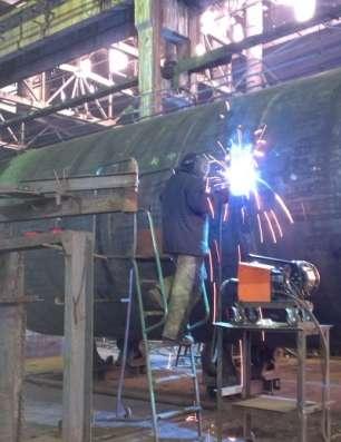 Изготовление горизонтальных емкостей пожарных металлических