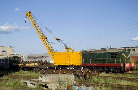Железнодорожный дизель-электрический кран КЖДЭ-16, КЖДЭ-25