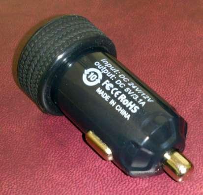 Зарядка в прикуриватель на 2 USB, ток 3A в Санкт-Петербурге Фото 2