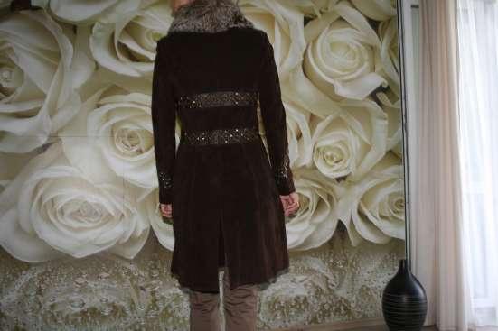 замшевое пальто в Красноярске Фото 1
