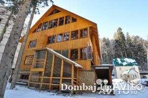 В КЧР на горно-лыжном курорте Домбай гостиница 600 кв.м.