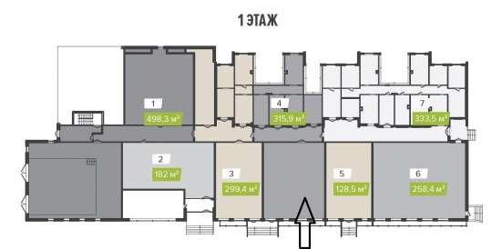 Помещение свободного назначения, 315.9 м²