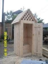 туалет деревянный,собачья будка,заборы в Кемерове Фото 1