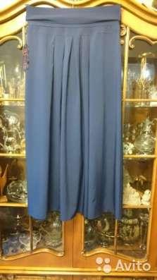 Юбка темно-синяя