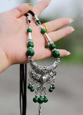 Гарнитур ожерелье и браслет