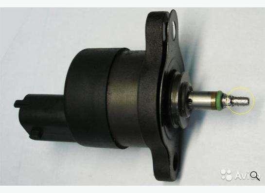 клапан давления топлива на туксон
