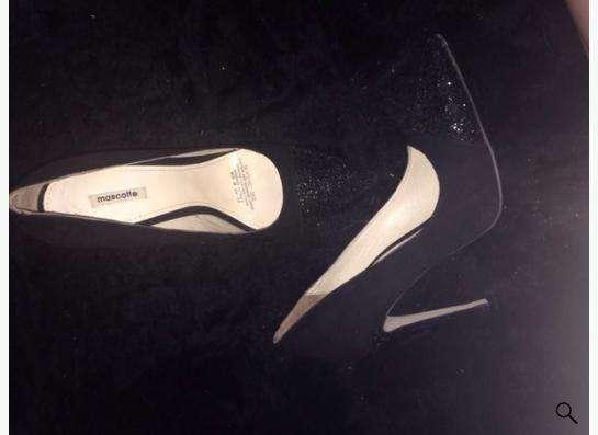 Праздничные замшевые туфли