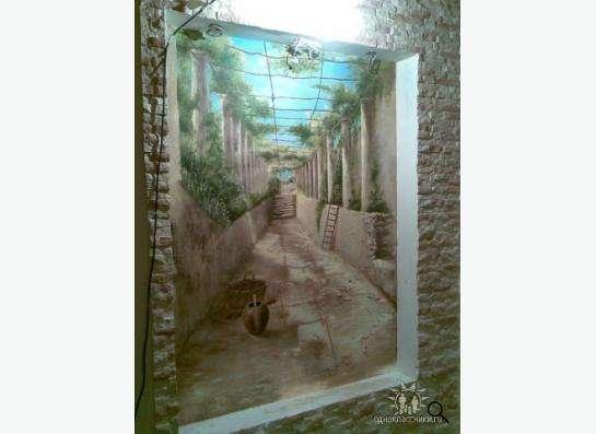 Роспись стен в Москве Фото 4