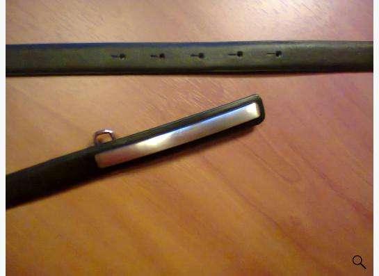 ремень черный с широкой пряжкой
