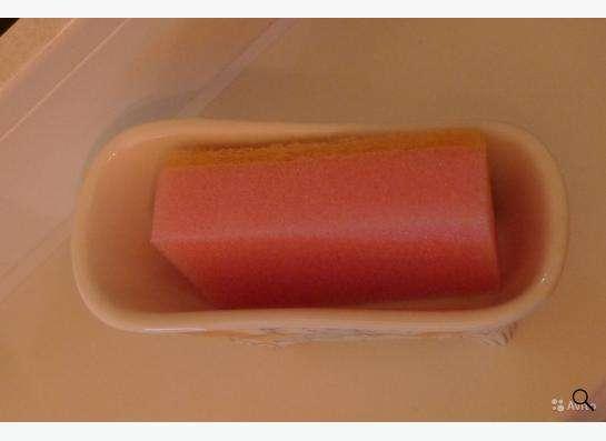 Набор 2 пр. (подставка + губка для мытья посуды)