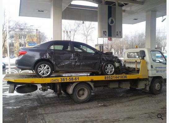Автоэвакуатор в Екатеринбурге Фото 2