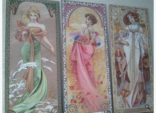 Роспись стен в Москве Фото 5