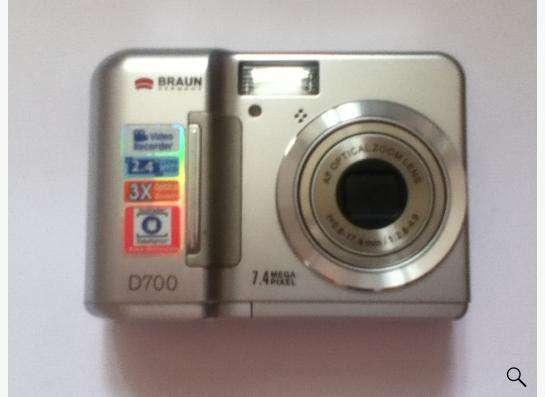 Фотоаппарат Braun D700 7.4 Megapixel