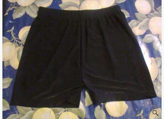Трусы-шорты черного цвета