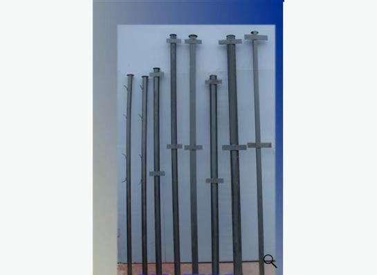 столбы металлические, секции для забора с доставкой