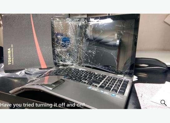 Куплю сломанные, разбитые ноутбуки!