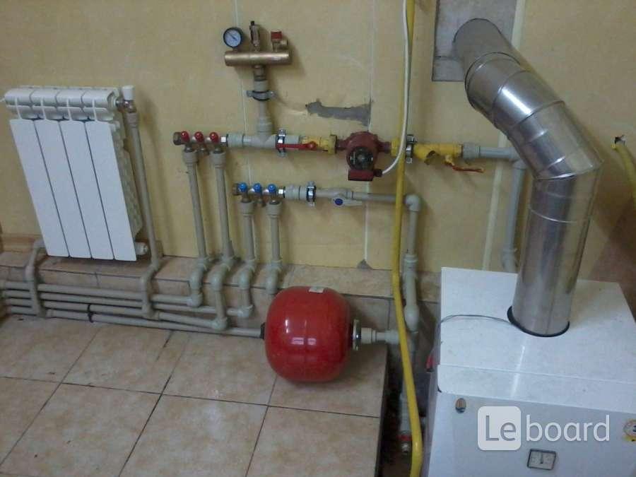 Отопление от газового котла своими руками 799